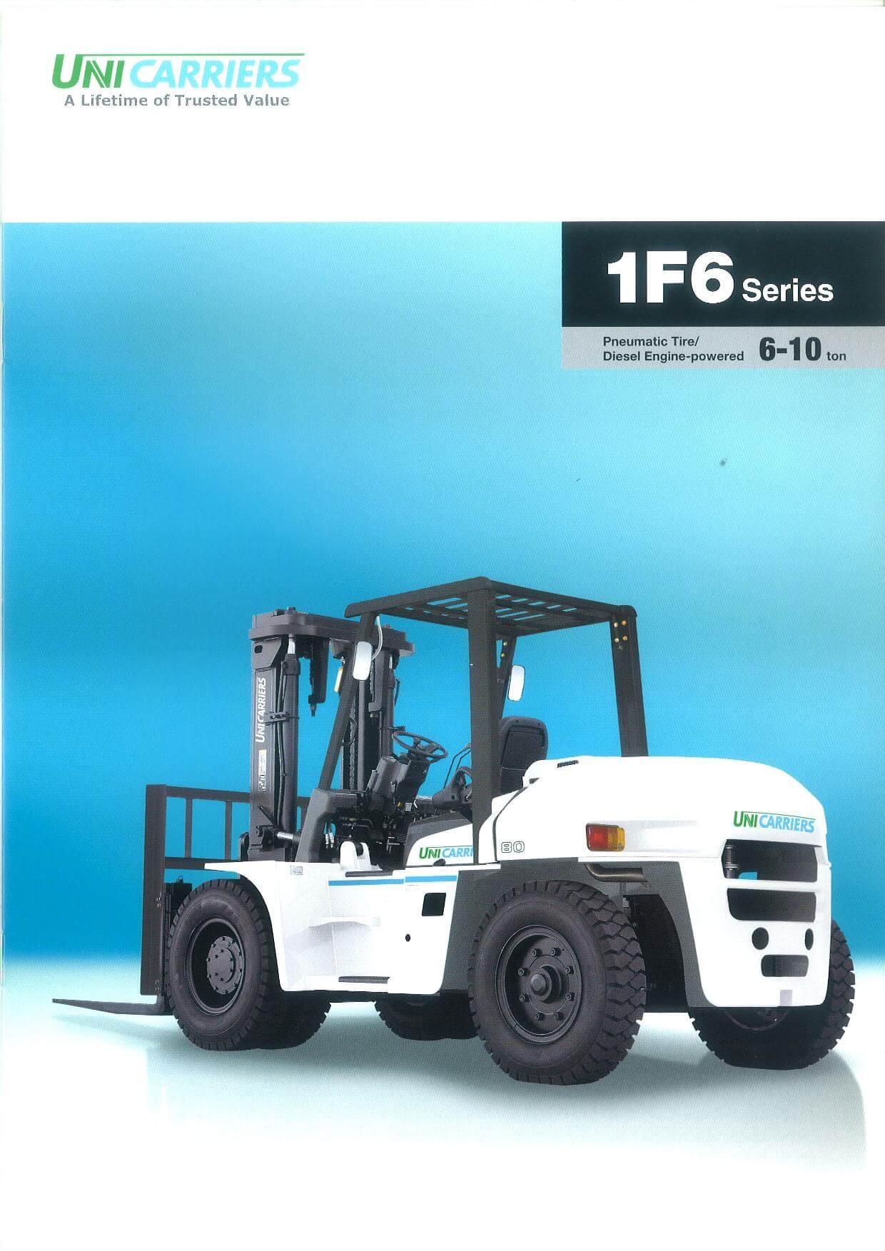 Unicarrier Disel Forklift